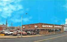 Schenectady NY Gateway Chevrolet Dealership postcard