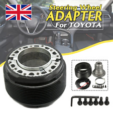Universal Steering Wheel Quick Release Hub Adapter Snap Off Boss Kit For Toyota