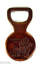 Old Bottle Opener Kreissparkasse HACHENBURG Copper Collector's Item