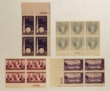 US MNH OG Plate Block Stamp Lot PB Scott 856 853 800 796 F980