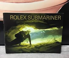 ROLEX  SUBMARINER AND SEA-DWELLER BOOKLET IN ENGLISH - CIRCA 2003 - Ref 594.52