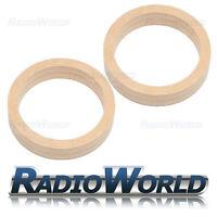 "MDF Speaker Spacer Mounting Rings 4"" 5.25"" 6.5"" 8"" 6x9"" 100mm 130mm 165mm 200mm"