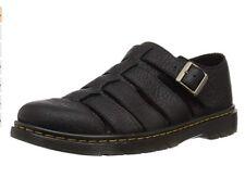 Men's Dr. Martens Fenton Leather Sandal Black Grizzly US8M