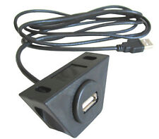 Usb Under Dash Mount Kit w/ 6 Ft Cable for iPod Mp3
