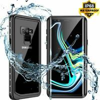 Samsung Galaxy Note9 Case Built-in with Curved Screen Protector Waterproof Cover