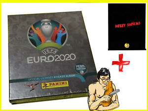 Panini EURO 2020 PEARL EDITION COLLECTOR BOX + Hobby Sapiens Binder - PROMOTION!