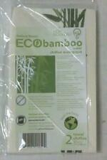 "New Set of 2 EcoBamboo Towels 20""x12"" (30x50cm)"