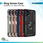 Shockproof Stand Ring Case For iPhone 6 6s 7 8 + Plus X XR XS Max 11 12 Pro Max