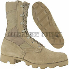 US Military Army COMBAT JUNGLE BOOTS Panama SPEEDLACE Hot Weather Tan 5XW NEW