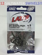 SLPHBKSW-4 48 Lazer Sharp Sz.4 Powerlight Swivels w// Hyper Snap EB050201