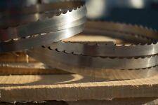 Wood-Mizer 158'' DoubleHard Sawmill Blades 10° x 0.045'' x 1.125''  - Box of 15