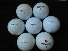"""40  WILSON - """"MIXED MODELS""""  -  Golf Balls -  """"PEARL/A"""" Grades."""