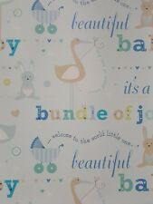 Buy Baby Shower Wrapping Paper Ebay