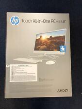 HP 24-Inch All-in-One Computer, AMD A9 Processor 8GB RAM 1TB Hard Drive White