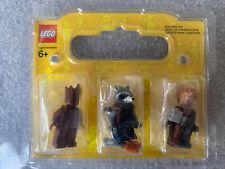 Marvel Lego Minifigure Bundle Thor, Rocket And Teenage Groot