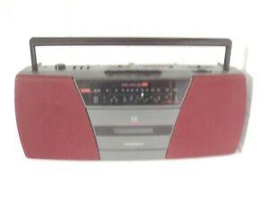GRUNDIG RR400 BOOMBOX Portable Stereo Radio Cassette Player Mains Battery VGWO