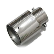 diameter less 2.16 inch Exhaust Tail Throat Pipe Chrome Stainless Muffler Sale