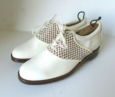 NEBULONI Women's Golf Oxford Shoes Excellent Condition 7M Italy