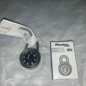 Master Lock 1525 Locker Padlock Combination Dial Key V660 New