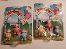 Vintage Soma Bubbly Chubbies Figure Lot Of 9 Teletubbies - New