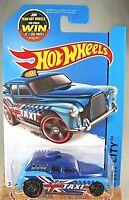 Blue Int. Card 2015 Hot Wheels HW CITY Cockney Cab II 8//250