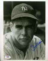 Charlie Keller PSA DNA Coa Hand Signed 8x10 Yankees Photo Autograph