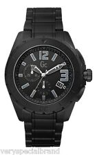 Guess GC XXL Blackout Ceramic Stainless Steel Watch X76011G2S