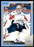2020-21 UD O-Pee-Chee Blue Border #307 Braden Holtby - Washington Capitals