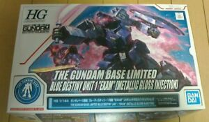 HG 1/144 The Gundam Base limited Blue Destiny Unit1 [Metalic Gloss Injection]