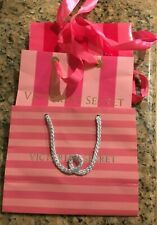 Victoria's Secret Small Shopping Gift Bags Lot of 3