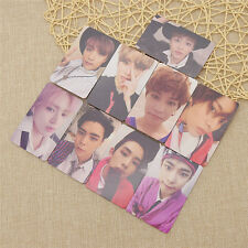 9pcs Nct127 Cherry Bomb 3rd Album Cards Members Photocards Set Fans Collections
