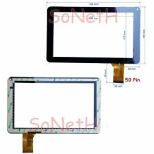 "Vetro Touch screen Digitizer 9,0"" Dicra TAB 900 RAINBOW Tablet PC Nero"