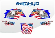 KIT ADESIVI GRAFICHE ATV QUAD AMERICAN EAGLE YAMAHA BANSHEE decals graphics