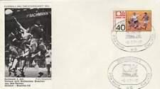 Voetbal envelop: WK Duitsland 1974 / Nederland - Brasilië (voet034)