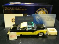 Franklin Mint LE 1955 Ford Fairlane Crown Victoria Precision Black & Yellow Exc