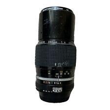 Nikon Ai Nikkor 200mm f/4 Manual Focus Telephoto Lens