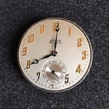 VINTAGE 39MM GRUEN OPENFACE POCKETWATCH MOVEMENT 16 JEWELS GRADE 758