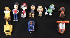 Lot Of 10 Paw Patrol Mini Figures And Cars Excellent Condition!
