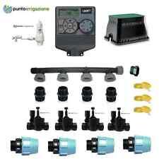 Offerta crisi!!! kit irrigazione 4 zone con centralina Orbit completo di tutto!