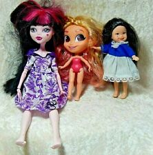 Mattel  Vintage Dolls Mixed Lot of three 10 inch to 4 1/2 inch