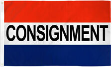 Consignment Flag 3x5ft Consignment Store Banner Sign Thrift Store
