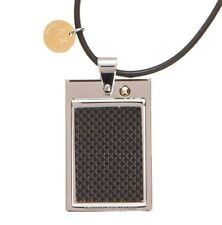 Armani Exchange Aix Dog Tag Necklace X6Nk572 Bnwt