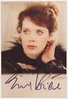 Sylvia Kristel †2012 Emmanuelle - hand signed Autograph Autogramm COA Zertifikat