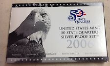 2006 US MINT SILVER QUARTER PROOF SET - Complete w/ Original Box and COA