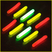Fishing Glow Stick 37x4.5mm Night Light Float Clip Rod Tip Star Game Coarse Carp