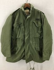 Vintage 1969 US Military M65 Field Jacket W/ Liner Sz Med Short