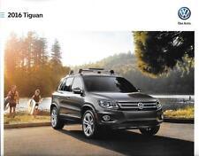 2016 16  VW  Tiguan  original Sales brochure MINT