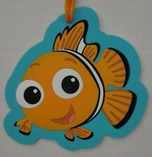 NEW Disney Theme Park Finding Nemo Luggage Bag Tag Suitcase
