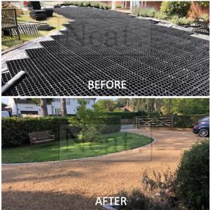 Gravel/Grass Grid Paver Base Greenhouse Deck Path Turf Lawn Gravel Shed Garden
