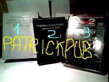 3 COFANETTI TERMINATOR INTROVABILI  DVD    no BLU RAY